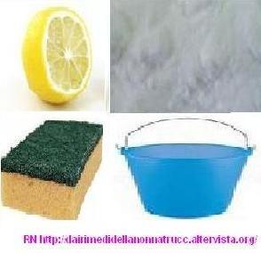 Le pulizie di casa con i prodotti naturali