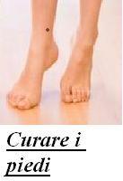 Curare i piedi