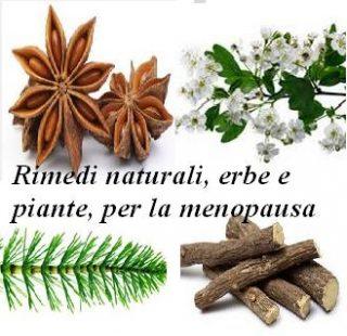 Rimedi naturali, erbe e piante, per la menopausa