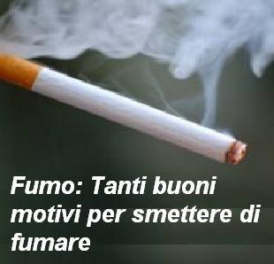 Fumo: Tanti buoni motivi per smettere di fumare