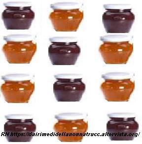 Marmellata, confettura e gelatine
