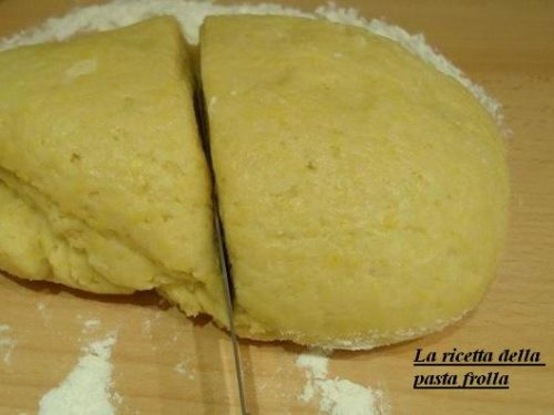 La ricetta della pasta frolla