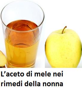 L'aceto di mele nei rimedi della nonna