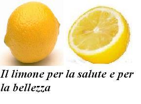 Il limone per la salute e per la bellezza