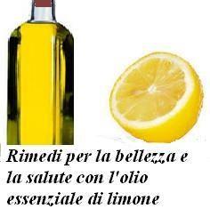 Rimedi per la bellezza e la salute con l'olio essenziale di limone