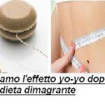 Evitiamo l'effetto yo-yo dopo una dieta dimagrante