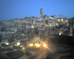 Festa a Matera candidata a capitale europea della cultura nel 2019.