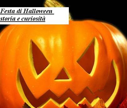 Festa di Halloween storia e curiosità