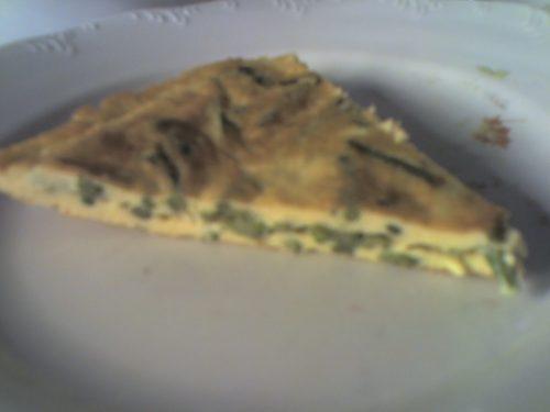 La frittata con gli asparagi