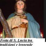 Festa di S. Lucia tra tradizioni e leggende