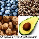 Gli alimenti ricchi di antiossidanti che rallentano l'invecchiamento
