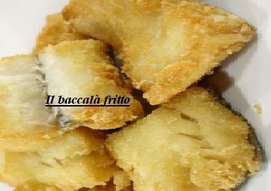 Il baccalà fritto