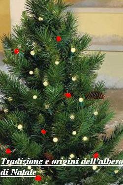 Tradizione e origini dell'albero di Natale