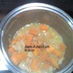 Zuppa con fagioli e zucca