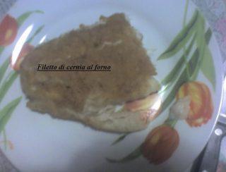 filetto di cernia al forno