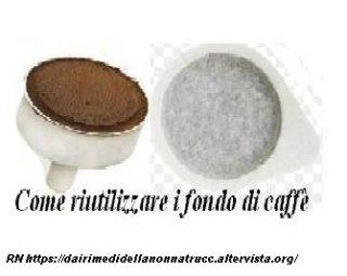Come riutilizzare i fondi di caffè