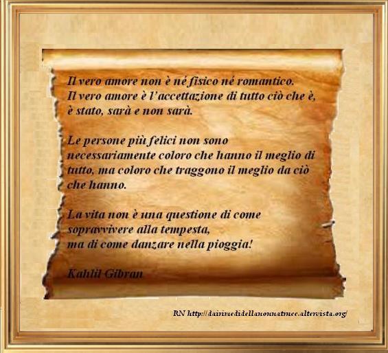 Immagine frase Vero Amore (Il vero amore non è....)