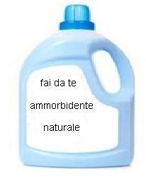 Ammorbidente naturale fai da te