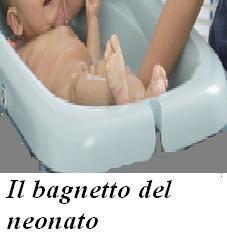 Il bagnetto del neonato
