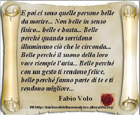 Immagine frase Persone belle