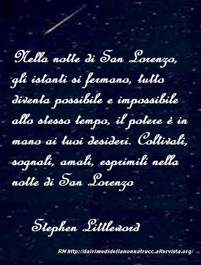 Immagine Frase Notte Di San Lorenzo Dai Rimedi Della Nonna