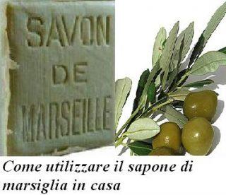 Come utilizzare il sapone di marsiglia in casa