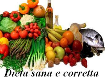 Dieta sana e corretta