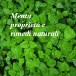Menta proprietà e rimedi naturali