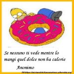 Immagine frase Sulle calorie