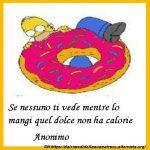 Immagine frase Sulle calorie
