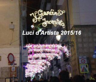 Luci d'Artista 2015/16 Salerno