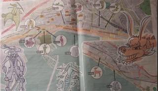 cartina luci d'artista