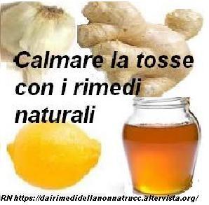 Calmare la tosse con i rimedi naturali