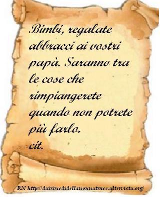Immagine frase Abbracci...