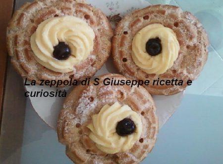La zeppola di S Giuseppe ricetta e curiosità