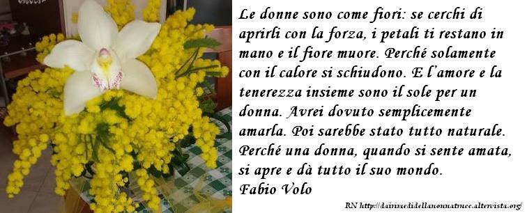 Immagine frase Le donne sono come fiori...
