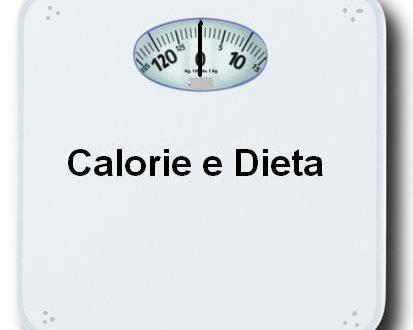 Calorie e Dieta