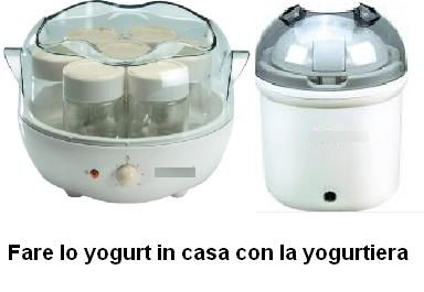 Fare lo yogurt in casa con la yogurtiera