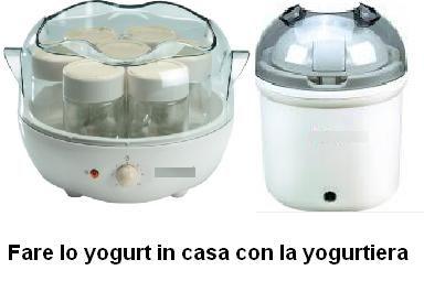 Fare lo yogurt in casa con la yogurtiera