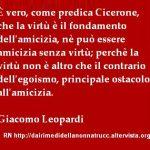 Immagine frase È vero come predica Cicerone…
