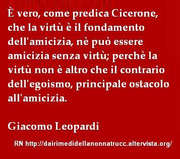 Immagine frase E vero come dice Cicerone