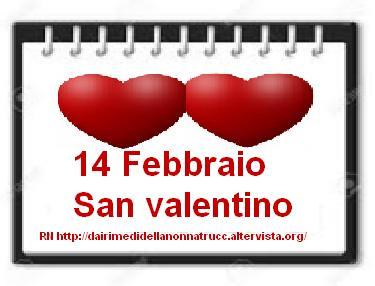 14 Febbraio San Valentino festa degli innamorati