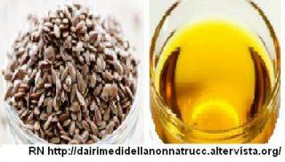 Olio di semi di lino proprietà e utilizzo