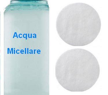 Acqua micellare proprietà e utilizzo