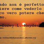 Immagine frase Il mondo non è perfetto…