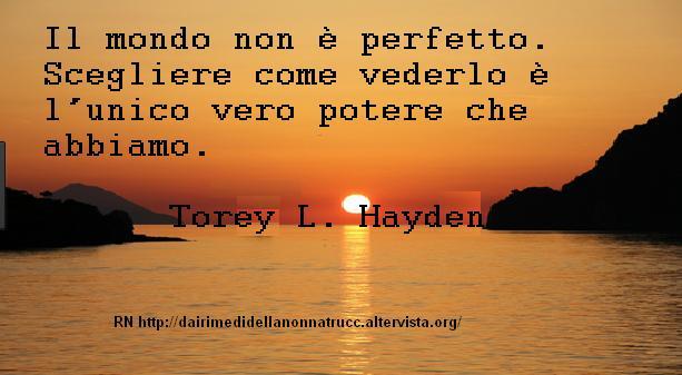 Immagine frase Il mondo non è perfetto...