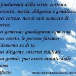 Immagine frase I 5 fondamenti della virtù…