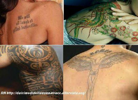 Curare i tatuaggi in modo naturale