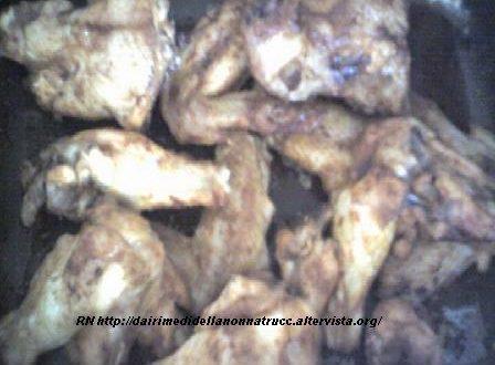 Alette di pollo piccanti al forno