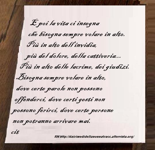 Immagine frase E poi la vita ci insegna...
